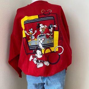 Vintage Mickey Olympics Crewneck Sweatshirt